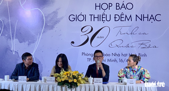 Hà Trần, Mỹ Tâm, Thủy Tiên vắng mặt trong đêm nhạc kỷ niệm 30 năm của Quốc Bảo - Ảnh 1.