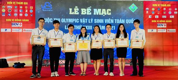 ĐH Sư phạm TP.HCM nhất toàn đoàn Olympic vật lý sinh viên - Ảnh 1.