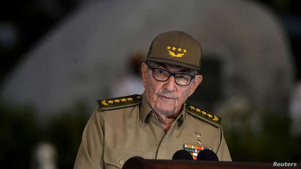 Đại tướng Raul Castro: Sẽ trao quyền lãnh đạo Đảng Cộng sản Cuba cho thế hệ trẻ - Ảnh 1.