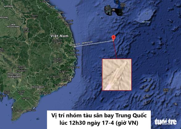 Tàu sân bay Trung Quốc tiến xuống nam Biển Đông - Ảnh 2.