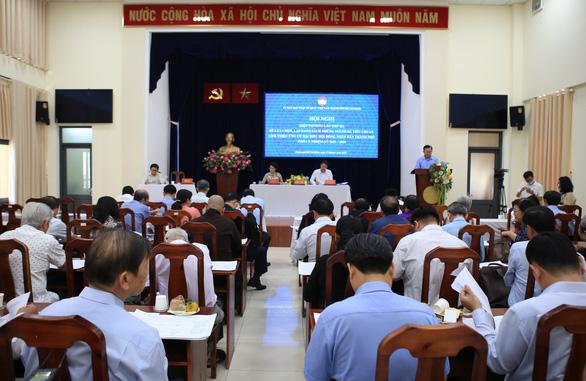 TP.HCM thông qua danh sách 159 người đủ tiêu chuẩn ứng cử đại biểu HĐND - Ảnh 1.