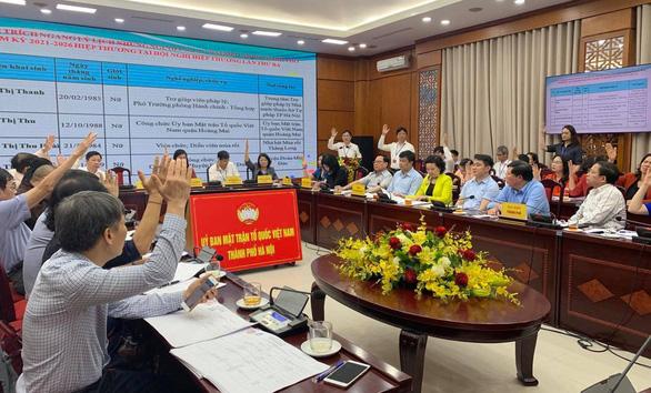 Hà Nội lập danh sách chính thức 160 ứng viên đại biểu HĐND thành phố - Ảnh 1.