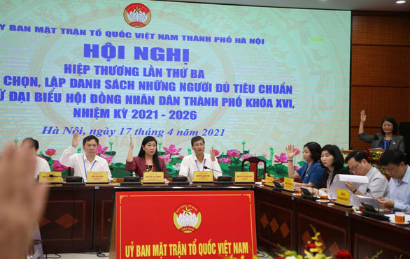 Hà Nội lập danh sách chính thức 160 ứng viên đại biểu HĐND thành phố - Ảnh 2.