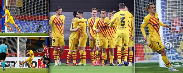 Messi lập cú đúp giúp Barca thắng 4 sao, đăng quang Cúp nhà vua - Ảnh 3.