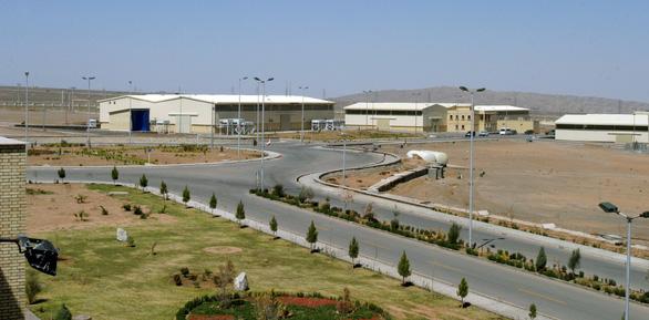 IAEA xác nhận Iran làm giàu uranium có mức tinh khiết 60% - Ảnh 1.