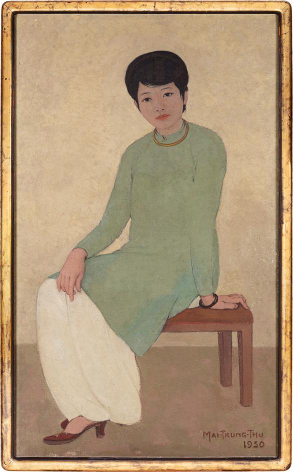 3,1 triệu đôla: Chân dung cô Phương - bức tranh Việt Nam chạm mức giá kỷ lục - Ảnh 1.