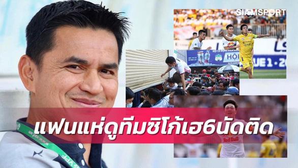 Báo Thái khen HLV Kiatisak hết lời sau chiến thắng trước Hà Nội - Ảnh 1.