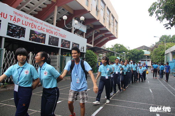 400 người khuyết tật năng động đua tranh thể thao vui khỏe, yêu thương - Ảnh 2.