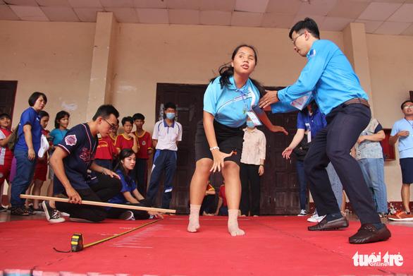 400 người khuyết tật năng động đua tranh thể thao vui khỏe, yêu thương - Ảnh 9.