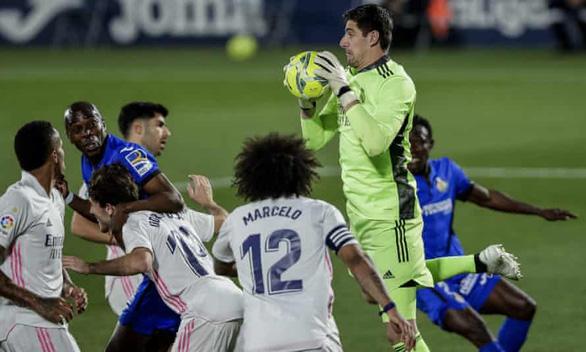 Real Madrid may mắn chia điểm trước Getafe - Ảnh 1.