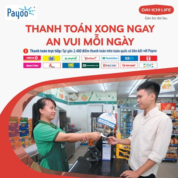 Chính thức được thanh toán phí bảo hiểm Dai-ichi Life Việt Nam qua Payoo - Ảnh 1.