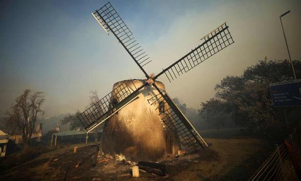 Cháy rừng, thư viện cổ ĐH Cape Town thành ngọn đuốc - Ảnh 2.