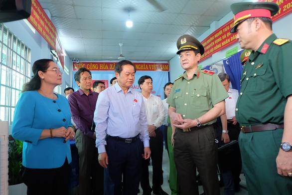Chủ tịch HĐND TP.HCM Nguyễn Thị Lệ: Kỳ bầu cử đặc biệt, cử tri thực hiện hai trách nhiệm lớn - Ảnh 2.