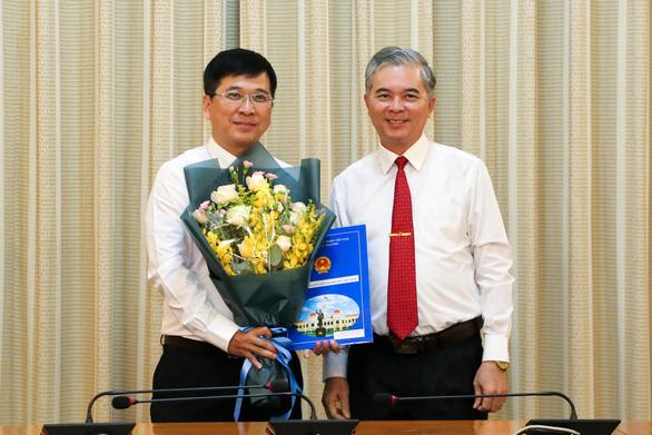 Ông Phan Thanh Tùng làm phó giám đốc Sở Tư pháp TP.HCM - Ảnh 1.