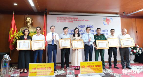 Phát động Giải thưởng toàn quốc về thông tin đối ngoại lần thứ 7 - Ảnh 2.