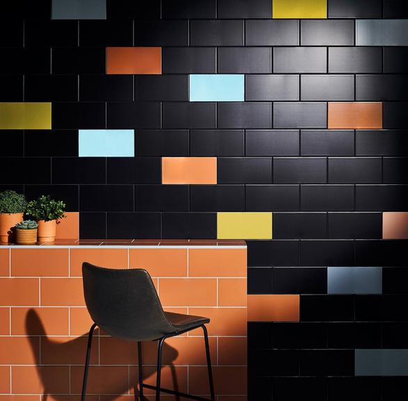 Ứng dụng đa dạng của bộ sưu tập gạch Colour trong trang trí nội thất - Ảnh 1.