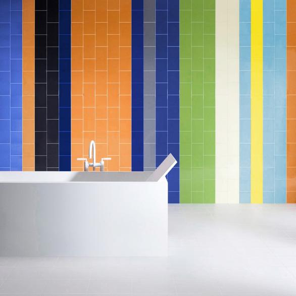 Ứng dụng đa dạng của bộ sưu tập gạch Colour trong trang trí nội thất - Ảnh 2.