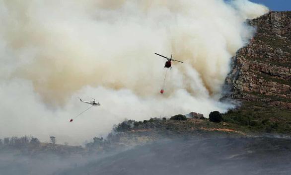 Cháy rừng, thư viện cổ ĐH Cape Town thành ngọn đuốc - Ảnh 5.