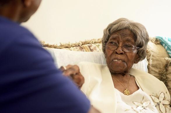 Cụ bà già nhất nước Mỹ có hơn 300 cháu vừa qua đời - Ảnh 1.