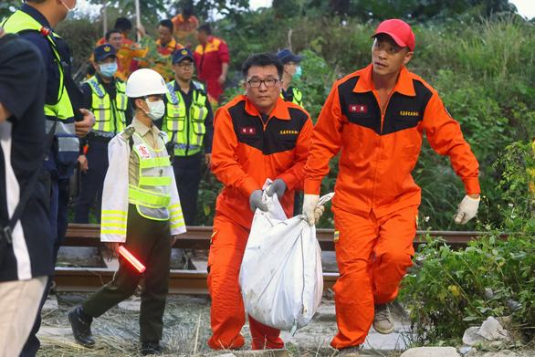 Xe tải tuột thắng gây ra thảm họa đường sắt Đài Loan - Ảnh 1.