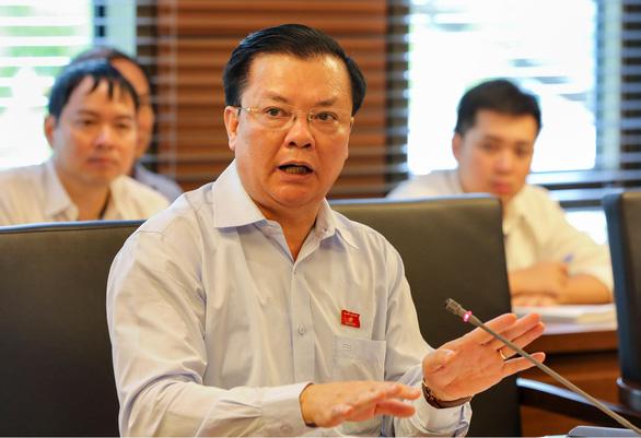 Bộ trưởng Tài chính Đinh Tiến Dũng làm Bí thư Thành ủy Hà Nội - Ảnh 1.