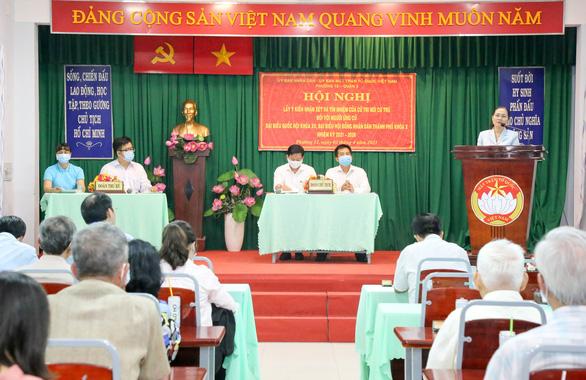 100% cử tri tín nhiệm bà Nguyễn Thị Lệ ứng cử đại biểu Quốc hội và HĐND TP.HCM - Ảnh 1.