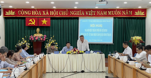 EVNHCMC hội nghị với quận Bình Thạnh về nâng cao chất lượng cung cấp điện - Ảnh 1.