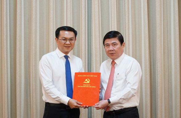 Ông Lâm Đình Thắng làm giám đốc Sở Thông tin và truyền thông TP.HCM - Ảnh 1.