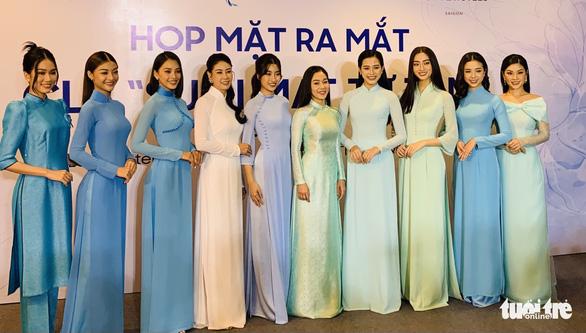 4 hoa hậu Mỹ Linh, Tiểu Vy, Thùy Linh, Đỗ Hà làm chủ tịch danh dự câu lạc bộ từ thiện - Ảnh 2.