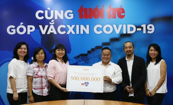 Hà Anh Tuấn góp 500 triệu đồng cho chương trình 'Cùng Tuổi Trẻ góp vắc xin COVID-19' - Ảnh 1.