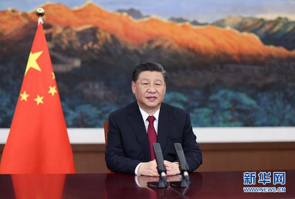 Ông Tập tuyên bố Trung Quốc mãi mãi không xưng bá, không bành trướng - Ảnh 1.