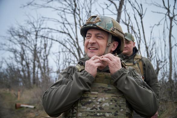 Căng thẳng với Nga, Ukraine huy động quân dự bị không cần báo trước - Ảnh 1.