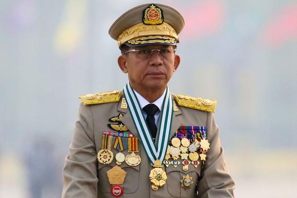 Thống tướng Myanmar sẽ dự hội nghị thượng đỉnh ASEAN - Ảnh 1.
