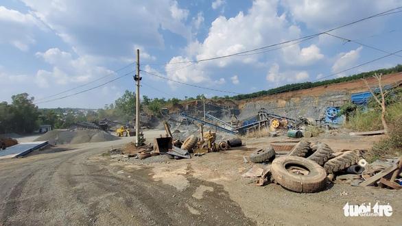 Mỏ khai thác đá hết hạn, doanh nghiệp vẫn tiếp tục… tận thu - Ảnh 3.