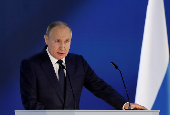 Tổng thống Putin: Nước Nga sẽ đáp trả, đừng thi xem ai lớn tiếng với Nga hơn - Ảnh 1.