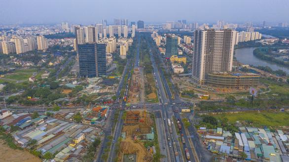 Nhà phố giá từ 8-10 tỉ đồng hấp dẫn người mua - Ảnh 1.