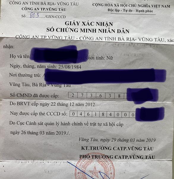 Không yêu cầu xuất trình giấy xác nhận số CMND - Ảnh 2.
