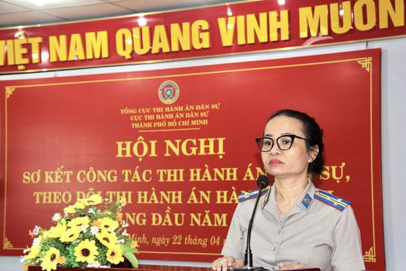 Bà Nguyễn Thị Thu làm chi cục trưởng Chi cục Thi hành án dân sự TP Thủ Đức - Ảnh 1.