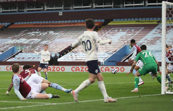 Thắng ngược Aston Villa, Man City tiến gần hơn đến ngôi vô địch - Ảnh 2.