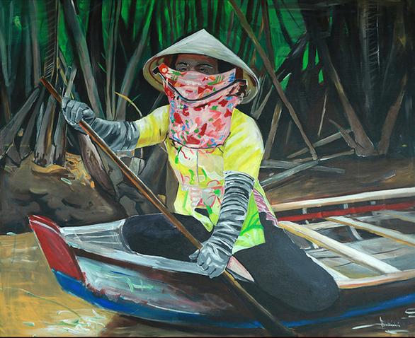 Mở trại sáng tác tranh in Việt Nam - quốc tế với chủ đề môi trường - Ảnh 3.