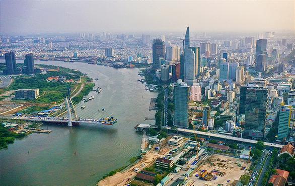 TP.HCM đề xuất đặt tên 4 cây cầu bắc qua Thủ Thiêm - Ảnh 1.