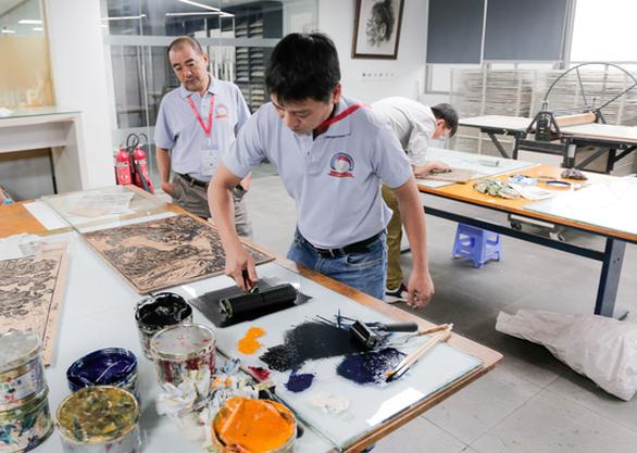 Mở trại sáng tác tranh in Việt Nam - quốc tế với chủ đề môi trường - Ảnh 2.