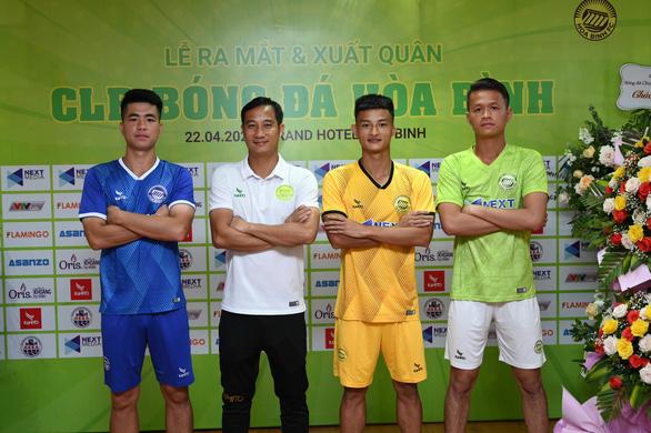 Tỉnh Hòa Bình ra mắt CLB bóng đá đầu tiên vùng Tây Bắc - Ảnh 3.