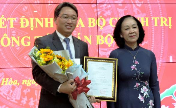 Ông Nguyễn Hải Ninh giữ chức bí thư Tỉnh ủy Khánh Hòa - Ảnh 1.