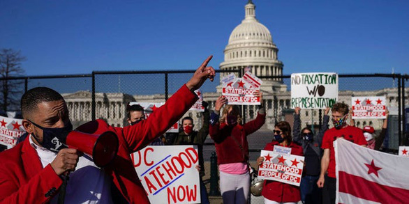 Washington, D.C. không dễ thành tiểu bang thứ 51 - Ảnh 1.