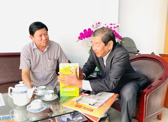 Ông Hồ Quang Cua xúc tiến đăng ký bảo hộ gạo ST25 tại Mỹ - Ảnh 1.
