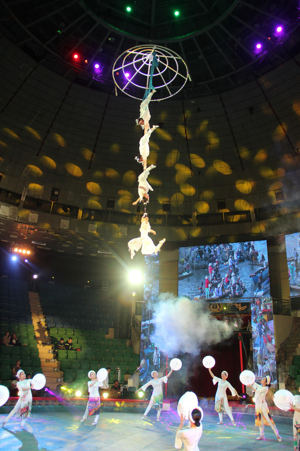 Hơn 100 diễn viên xiếc khoe tài trong cuộc thi tài năng xiếc toàn quốc - Ảnh 6.