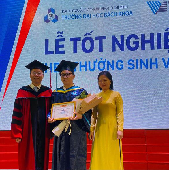 Một sinh viên hoàn thành chương trình tại ĐH Bách khoa TP.HCM trong 3 năm rưỡi, đạt loại giỏi - Ảnh 1.