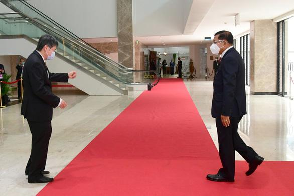 Thống tướng Myanmar Min Aung Hlaing đã tới Indonesia - Ảnh 2.