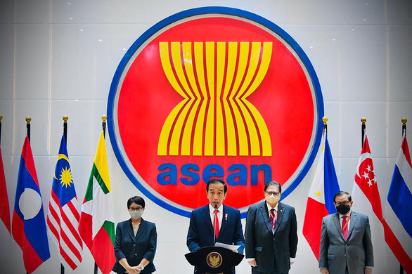 Lãnh đạo các nước ASEAN đồng thuận: Chấm dứt bạo lực ở Myanmar - Ảnh 1.